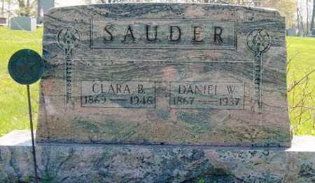 SAUDER, CLARA B. - Wayne County, Ohio | CLARA B. SAUDER - Ohio Gravestone Photos
