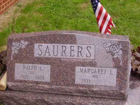 "SAURERS, MARGARET ""PEG"" L. - Wayne County, Ohio | MARGARET ""PEG"" L. SAURERS - Ohio Gravestone Photos"
