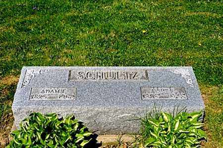 SCHULTZ, ADAM EUGENE - Wayne County, Ohio | ADAM EUGENE SCHULTZ - Ohio Gravestone Photos