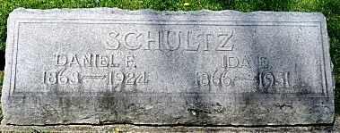 SCHULTZ, IDA E. - Wayne County, Ohio | IDA E. SCHULTZ - Ohio Gravestone Photos