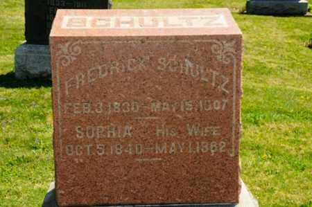 BERCH SCHULTZ, SOPHIA - Wayne County, Ohio | SOPHIA BERCH SCHULTZ - Ohio Gravestone Photos