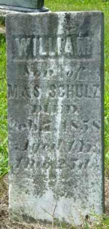 SCHULTZ, WILLIAM - Wayne County, Ohio   WILLIAM SCHULTZ - Ohio Gravestone Photos