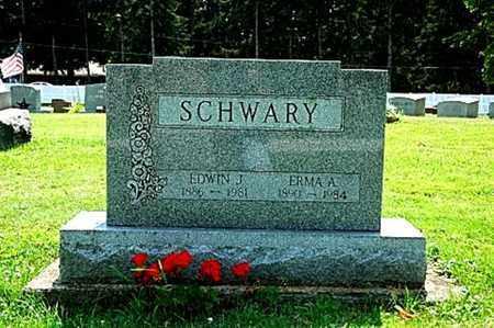 PONTIUS SCHWARY, EMMA A. - Wayne County, Ohio | EMMA A. PONTIUS SCHWARY - Ohio Gravestone Photos