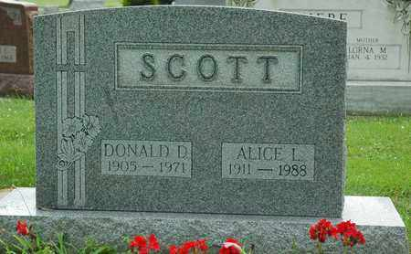 FORRER SCOTT, ALICE L. - Wayne County, Ohio | ALICE L. FORRER SCOTT - Ohio Gravestone Photos