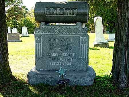 EMIG SCOTT, FRANCES - Wayne County, Ohio | FRANCES EMIG SCOTT - Ohio Gravestone Photos