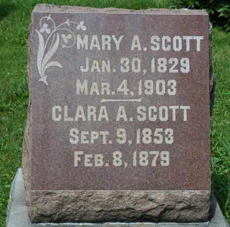 SCOTT, CLARA A. - Wayne County, Ohio | CLARA A. SCOTT - Ohio Gravestone Photos