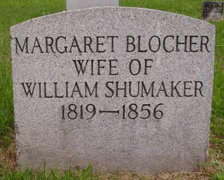 BLOCHER SHUMAKER, MARGARET - Wayne County, Ohio | MARGARET BLOCHER SHUMAKER - Ohio Gravestone Photos