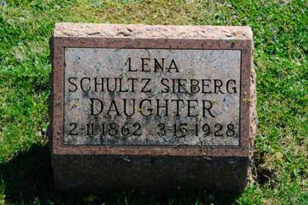 SIEBERG, LENA - Wayne County, Ohio | LENA SIEBERG - Ohio Gravestone Photos