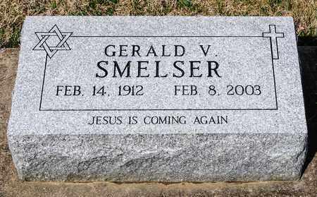 SMELSER, GERALD V - Wayne County, Ohio   GERALD V SMELSER - Ohio Gravestone Photos