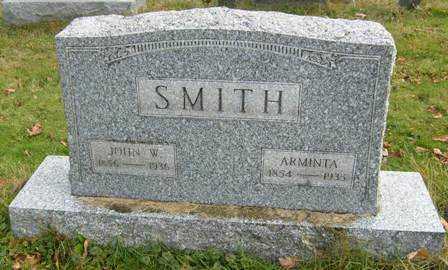 MOWREY SMITH, ARMINTA - Wayne County, Ohio | ARMINTA MOWREY SMITH - Ohio Gravestone Photos