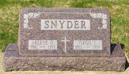 SNYDER, VIRGIL L - Wayne County, Ohio | VIRGIL L SNYDER - Ohio Gravestone Photos