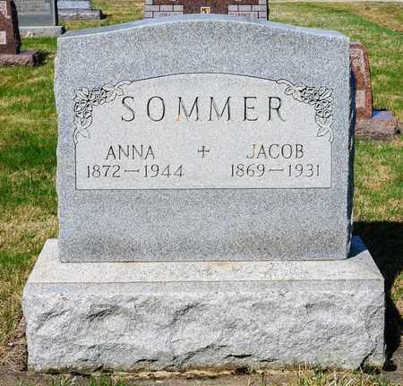 SOMMER, ANNA - Wayne County, Ohio | ANNA SOMMER - Ohio Gravestone Photos