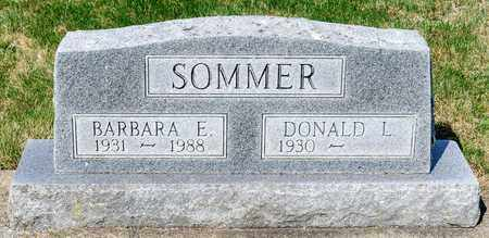 SOMMER, BARBARA E - Wayne County, Ohio | BARBARA E SOMMER - Ohio Gravestone Photos