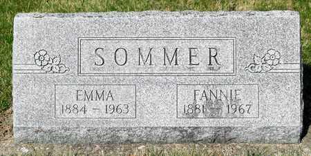 SOMMER, FANNIE - Wayne County, Ohio | FANNIE SOMMER - Ohio Gravestone Photos