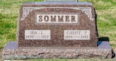 SOMMER, IDA L - Wayne County, Ohio | IDA L SOMMER - Ohio Gravestone Photos