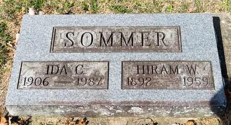 SOMMER, HIRAM W - Wayne County, Ohio | HIRAM W SOMMER - Ohio Gravestone Photos