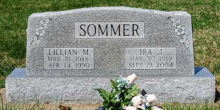 SOMMER, IRA J - Wayne County, Ohio | IRA J SOMMER - Ohio Gravestone Photos