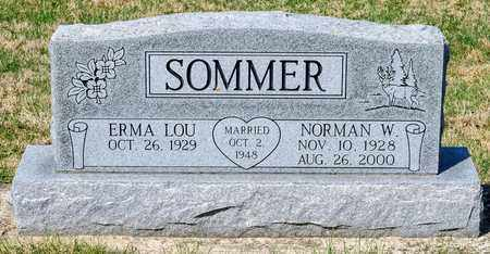 SOMMER, NORMAN W - Wayne County, Ohio | NORMAN W SOMMER - Ohio Gravestone Photos