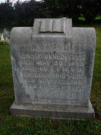 SONNEDECKER, ISOPHENA - Wayne County, Ohio | ISOPHENA SONNEDECKER - Ohio Gravestone Photos