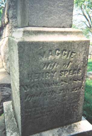 HENNINGER SPEAS, MAGDALENA - Wayne County, Ohio   MAGDALENA HENNINGER SPEAS - Ohio Gravestone Photos