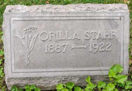 STAHR, ORILLA - Wayne County, Ohio | ORILLA STAHR - Ohio Gravestone Photos