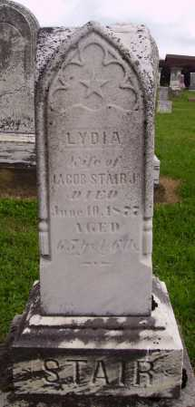 STAIR, LYDIA - OVERALL VIEW - Wayne County, Ohio   LYDIA - OVERALL VIEW STAIR - Ohio Gravestone Photos