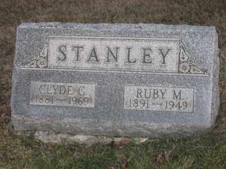 STANLEY, CLYDE G. - Wayne County, Ohio | CLYDE G. STANLEY - Ohio Gravestone Photos