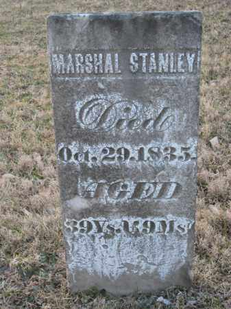 STANLEY, MARSHAL - Wayne County, Ohio | MARSHAL STANLEY - Ohio Gravestone Photos