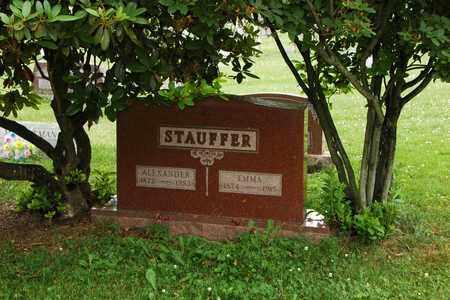 STAUFFER, ALEXANDER - Wayne County, Ohio | ALEXANDER STAUFFER - Ohio Gravestone Photos