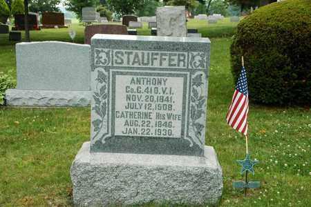 STAUFFER, ANTHONY - Wayne County, Ohio | ANTHONY STAUFFER - Ohio Gravestone Photos