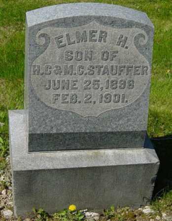 STAUFFER, ELMER H. - Wayne County, Ohio | ELMER H. STAUFFER - Ohio Gravestone Photos