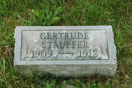 STAUFFER, GERTRUDE - Wayne County, Ohio | GERTRUDE STAUFFER - Ohio Gravestone Photos