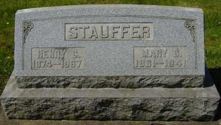 DAVIDSON STAUFFER, MARY C. - Wayne County, Ohio | MARY C. DAVIDSON STAUFFER - Ohio Gravestone Photos