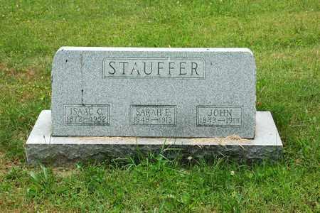 STAUFFER, ISAAC C. - Wayne County, Ohio | ISAAC C. STAUFFER - Ohio Gravestone Photos