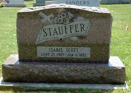 STAUFFER, ISABEL - Wayne County, Ohio | ISABEL STAUFFER - Ohio Gravestone Photos