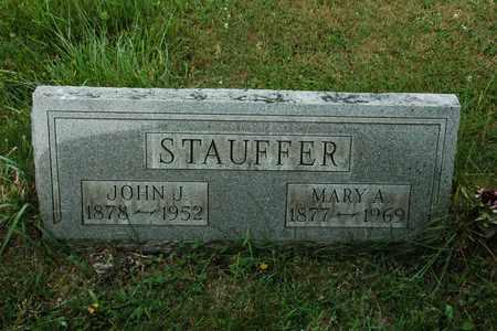 STAUFFER, MARY A. - Wayne County, Ohio | MARY A. STAUFFER - Ohio Gravestone Photos
