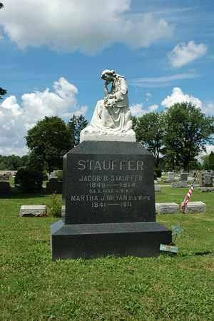 BRYAN STAUFFER, MARTHA J. - Wayne County, Ohio | MARTHA J. BRYAN STAUFFER - Ohio Gravestone Photos