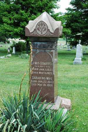 STAUFFER, LEWIS - Wayne County, Ohio | LEWIS STAUFFER - Ohio Gravestone Photos