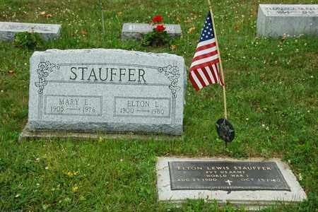 STAUFFER, MARY E. - Wayne County, Ohio | MARY E. STAUFFER - Ohio Gravestone Photos