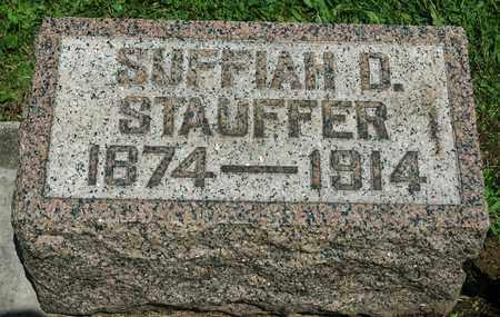 FISHBURN STAUFFER, SUFFIAH D. - Wayne County, Ohio | SUFFIAH D. FISHBURN STAUFFER - Ohio Gravestone Photos