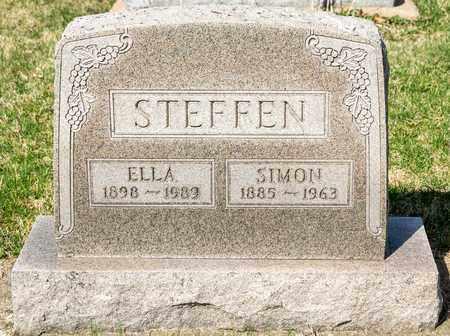 STEFFEN, ELLA - Wayne County, Ohio | ELLA STEFFEN - Ohio Gravestone Photos