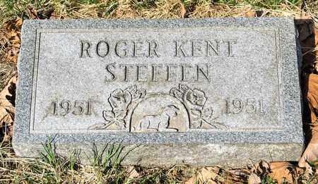 STEFFEN, ROGER KENT - Wayne County, Ohio | ROGER KENT STEFFEN - Ohio Gravestone Photos