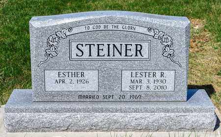 STEINER, LESTER R - Wayne County, Ohio | LESTER R STEINER - Ohio Gravestone Photos