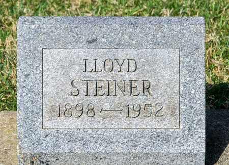 STEINER, LLOYD - Wayne County, Ohio | LLOYD STEINER - Ohio Gravestone Photos