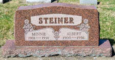 STEINER, ALBERT - Wayne County, Ohio | ALBERT STEINER - Ohio Gravestone Photos