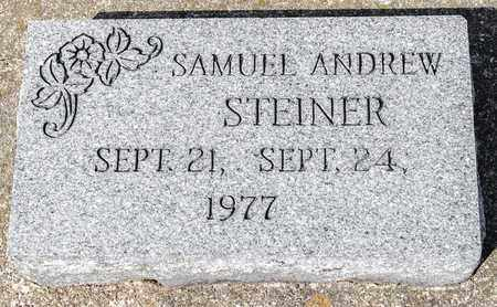STEINER, SAMUEL ANDREW - Wayne County, Ohio   SAMUEL ANDREW STEINER - Ohio Gravestone Photos