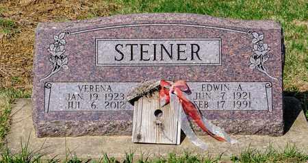 STEINER, EDWIN A - Wayne County, Ohio | EDWIN A STEINER - Ohio Gravestone Photos