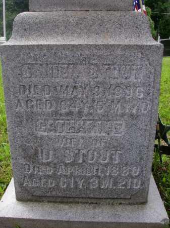 OBERLIN STOUT, CATHERINE - Wayne County, Ohio | CATHERINE OBERLIN STOUT - Ohio Gravestone Photos