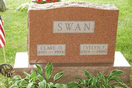SWAN, EVELYN F. - Wayne County, Ohio | EVELYN F. SWAN - Ohio Gravestone Photos