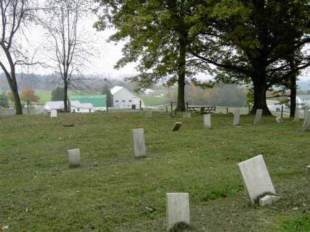 THOMPSON, CEMETERY - VIEW 1 - Wayne County, Ohio   CEMETERY - VIEW 1 THOMPSON - Ohio Gravestone Photos